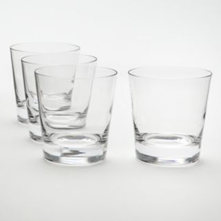 Food Network™ Stir 4-pc. Crystal Double Old-Fashioned Glass Set