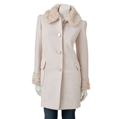Apt. 9 Lurex Wool Coat