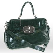 B-Collective by Buxton Glazed Satchel