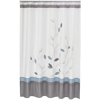 Home Classics Alana Fabric Shower Curtain