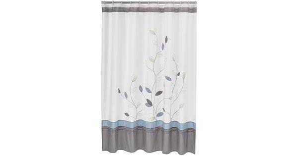 Home Classics 174 Alana Fabric Shower Curtain