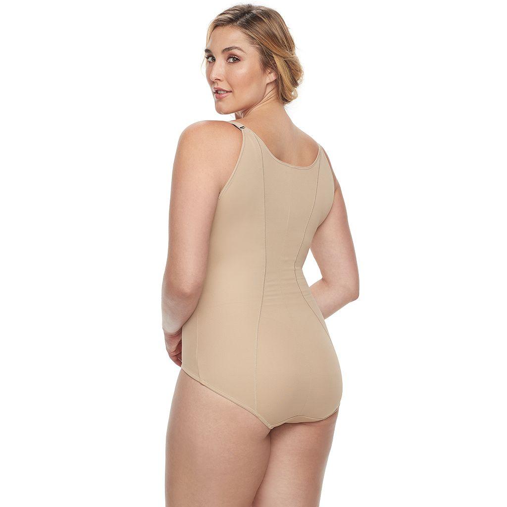 Plus Size Maidenform Shapewear Ultimate Slimmer Torsette Body Briefer - Women's Plus - 12657