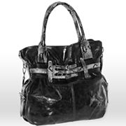 B-Collective by Buxton Leather Glazed Belted Hobo