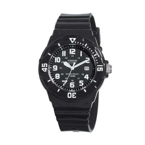 Casio Black Resin Watch - LRW200H-1BVCF - Women