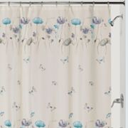 Creative Bath Garden Gate Fabric Shower Curtain