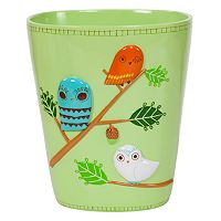 Creative Bath Give A Hoot Wastebasket