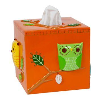 Creative Bath Give A Hoot Tissue Holder