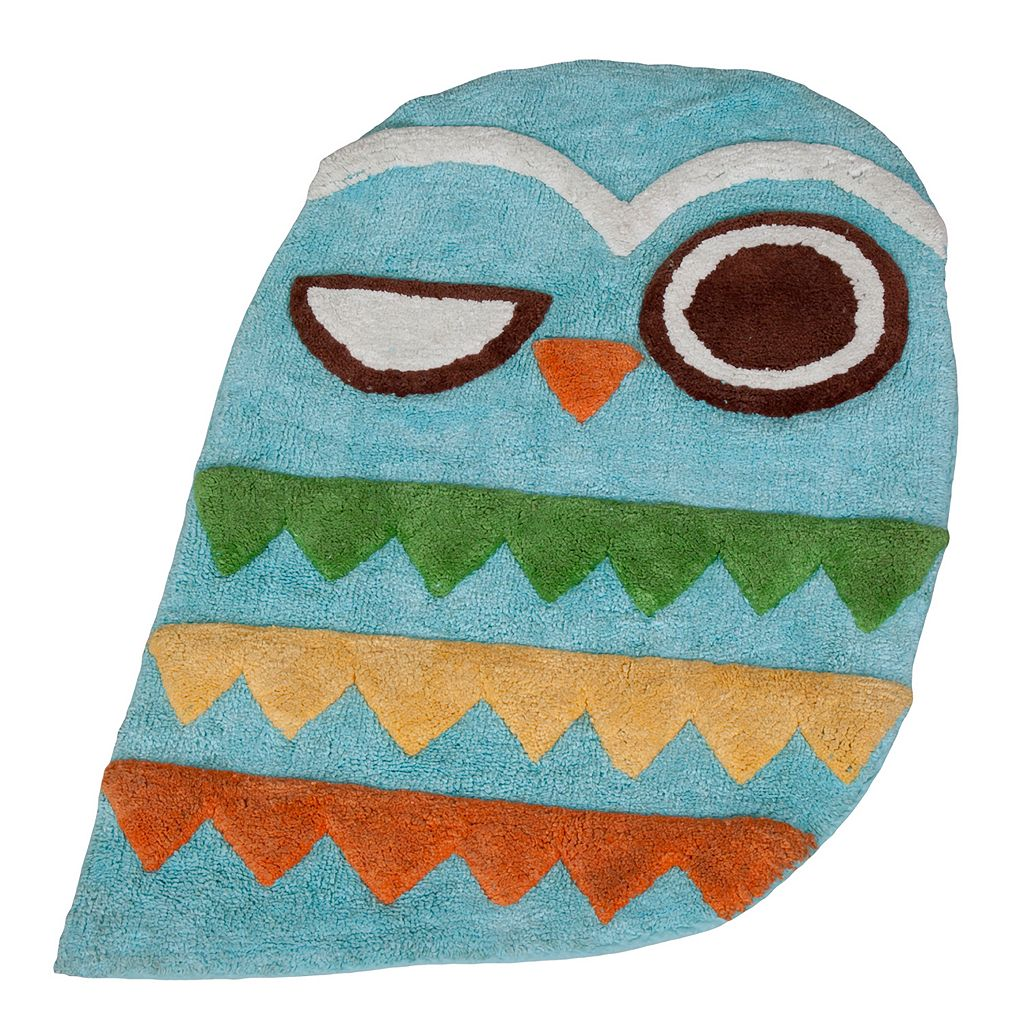 Creative Bath Give A Hoot Bath Rug
