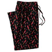 Croft and Barrow Hot Sauce Lounge Pants - Big and Tall