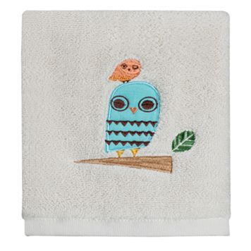 Creative Bath Give A Hoot Washcloth