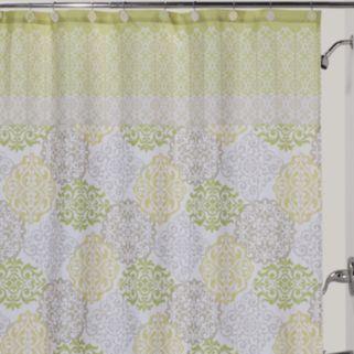 Creative Bath Medallion Fabric Shower Curtain