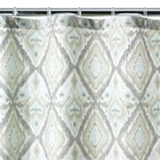 Cabo Mosaic Fabric Shower Curtain
