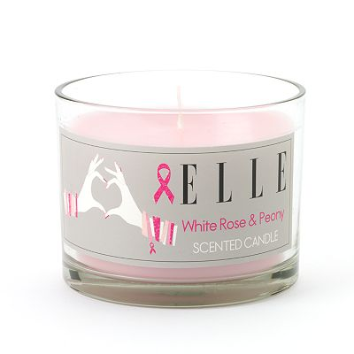 Kohl's Cares ELLE White Rose and Peony Candle