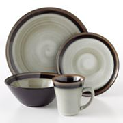 Sango Carousel Black 16-pc. Dinnerware Set