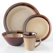 Sango Carousel Brown 16-pc. Dinnerware Set