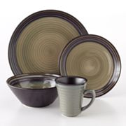 Sango Tropica Black 16-pc. Dinnerware Set