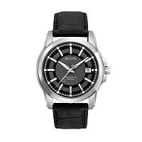 Bulova Men's Precisionist Langford Leather Watch - 96B158