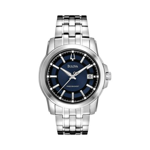 Bulova Precisionist Langford Stainless Steel Watch - 96B159 - Men