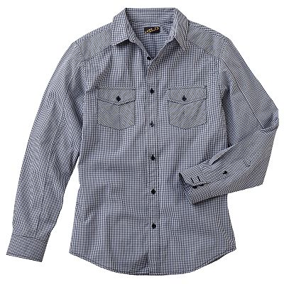 Helix Modern-Fit Gingham Plaid Shirt