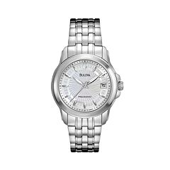 Bulova Watch - Women's Precisionist Stainless Steel - 96M121