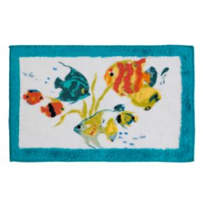 Creative Bath Rainbow Fish Bath Rug