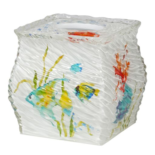 Creative Bath Rainbow Fish Tissue Holder