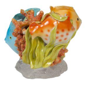 Creative Bath Rainbow Fish Toothbrush Holder