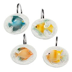 Creative Bath Rainbow Fish 12-pk. Shower Curtain Hooks