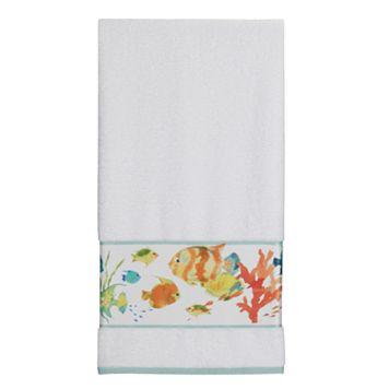 Creative Bath Rainbow Fish Bath Towel