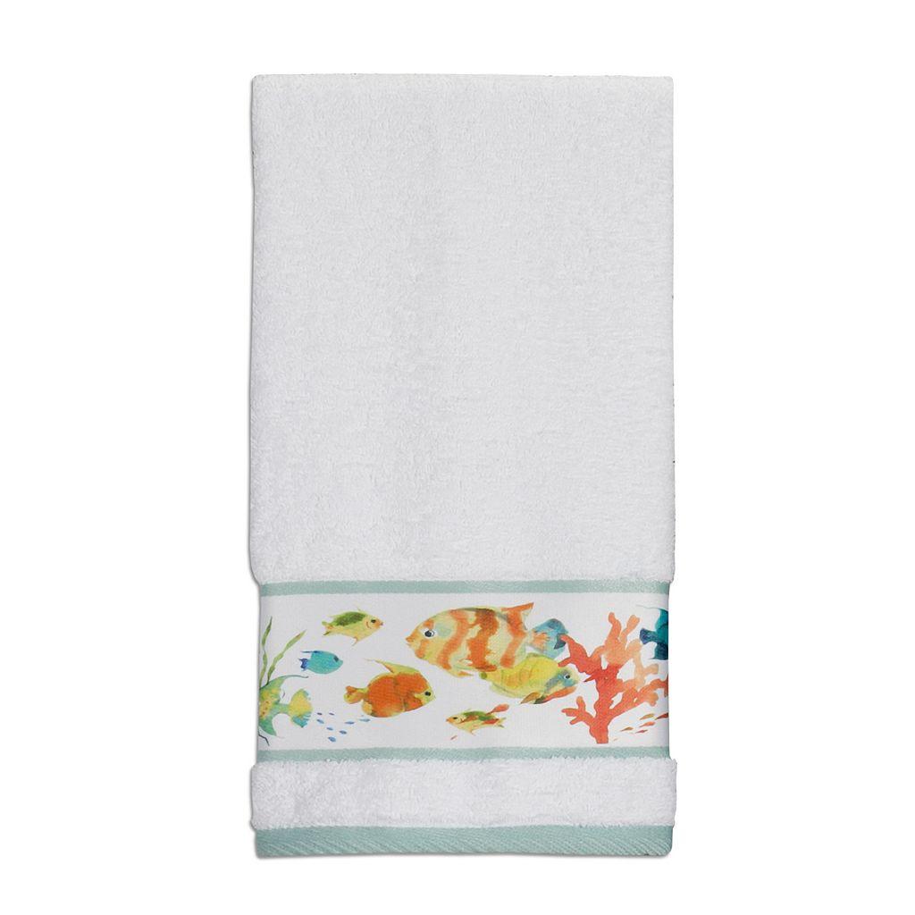 Creative Bath Rainbow Fish Hand Towel