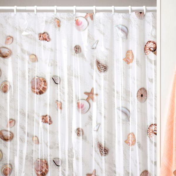 Kohls.com Creative Bath Creative Bath Seashell Vinyl Shower Curtain ...