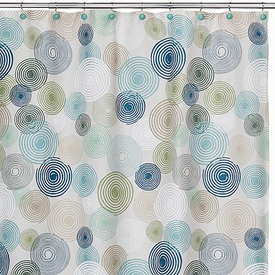 Creative Bath Swirl Shower Curtain