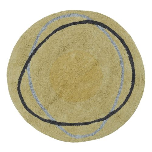Creative Bath Dot Swirl Bath Rug