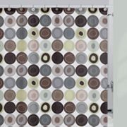 Creative Bath Dot Swirl Fabric Shower Curtain