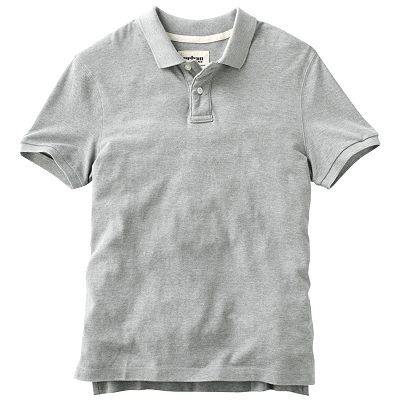Urban Pipeline Solid Pique Polo