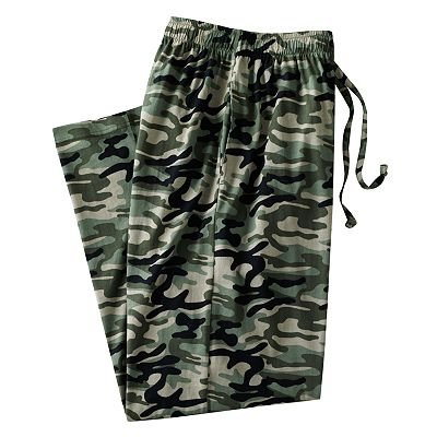 Croft and Barrow Camouflage Lounge Pants - Big and Tall