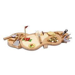 Picnic Time Sand Trap 7-pc. Bamboo Cheese Board Set