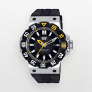 Caterpillar Deep Ocean Stainless Steel Black Ion Watch - D314121121 - Men