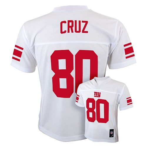 Top Boys 8 20 New York Giants Victor Cruz NFL Replica Jersey