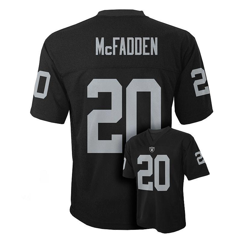 Oakland Raiders Darren McFadden Jersey - Boys 8-20