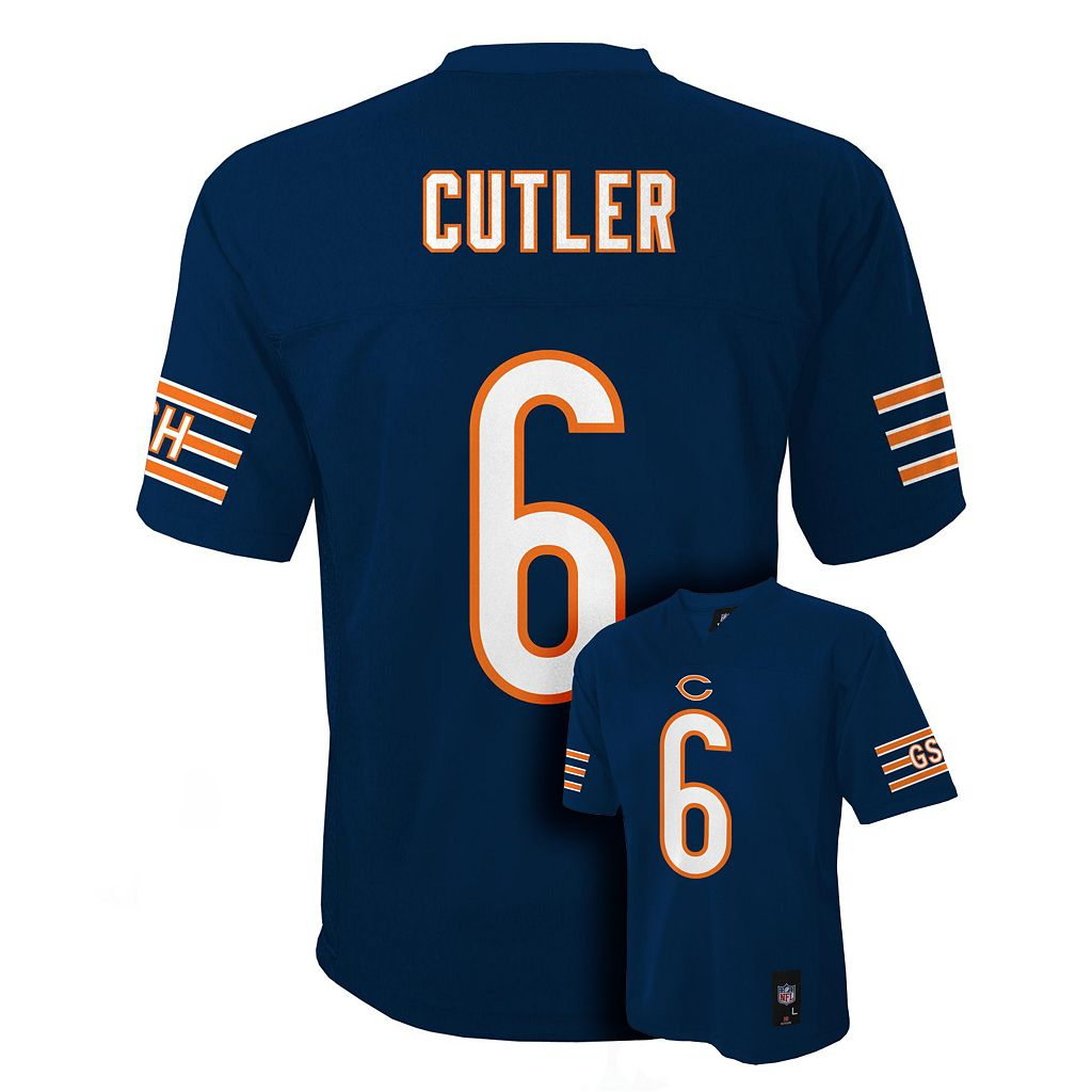 Boys 8-20 Chicago Bears Jay Cutler NFL Jersey
