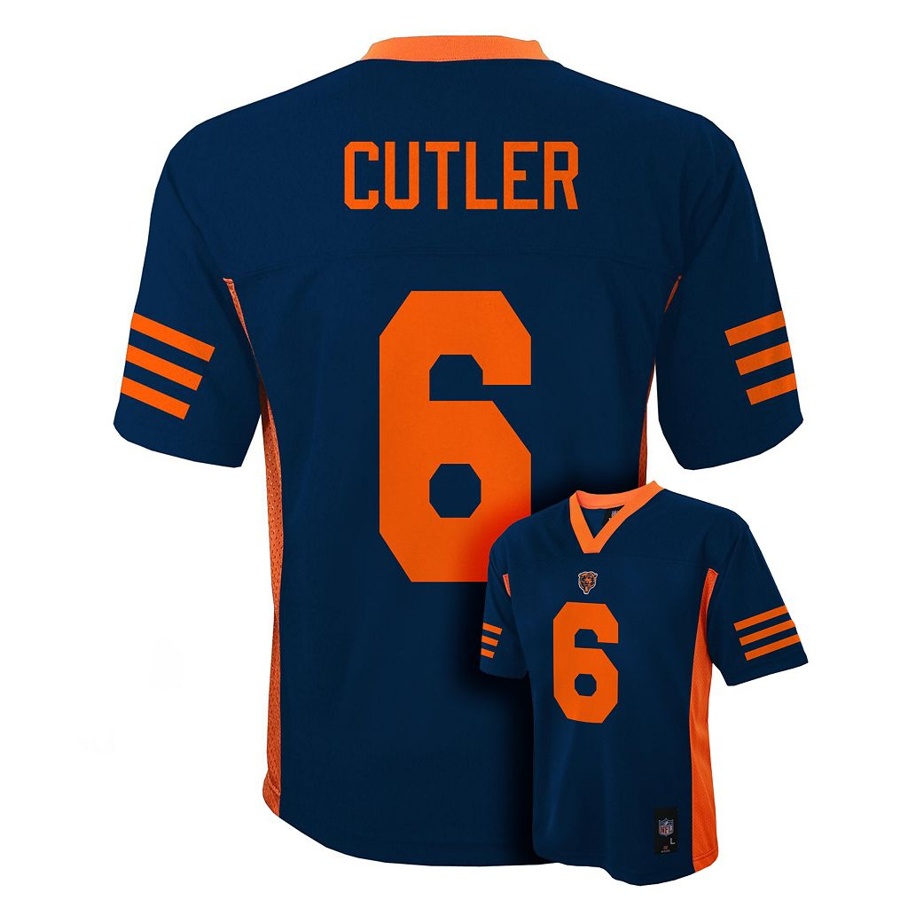 Boys 8-20 Chicago Bears Jay Cutler NFL Jersey