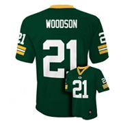Green Bay Packers Charles Woodson NFL Jersey - Boys 8-20