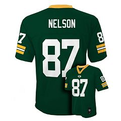 Boys 8-20 Green Bay Packers Jordy Nelson NFL Replica Jersey