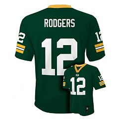 Boys 8-20 Green Bay Packers Aaron Rodgers NFL Replica Jersey