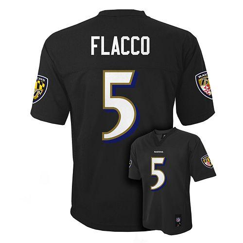 1dbe08657 Boys 8-20 Baltimore Ravens Joe Flacco NFL Replica Jersey