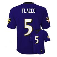 Boys 8-20 Baltimore Ravens Joe Flacco NFL Replica Jersey