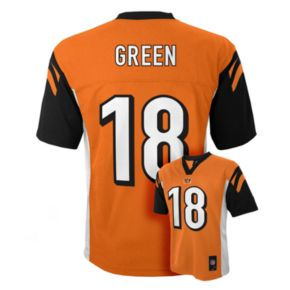 Boys 8-20 Cincinnati Bengals AJ Green NFL Replica Jersey