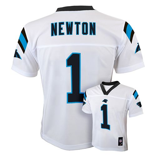 a0f5b677 Boys 8-20 Carolina Panthers Cam Newton NFL Replica Jersey