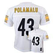 Pittsburgh Steelers Troy Polamalu NFL Jersey - Boys 8-20